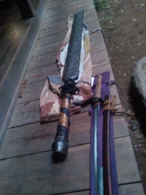 ~Himura Kenshin's Sakabato and Sanosuke's Zanbato~ WANT ...