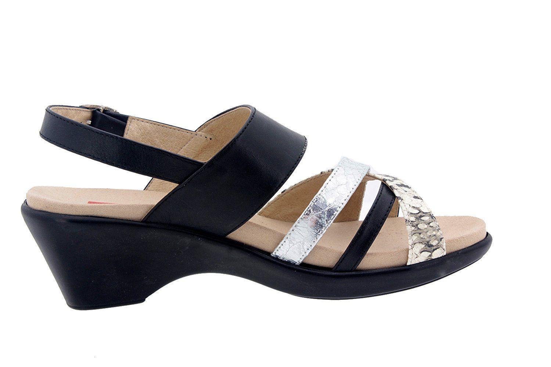 e49c80a62f12cb Calzado mujer confort de piel Piesanto 6859 sandalia plantilla extraíble  zapato cómodo ancho  Amazon.es  Zapatos y complementos