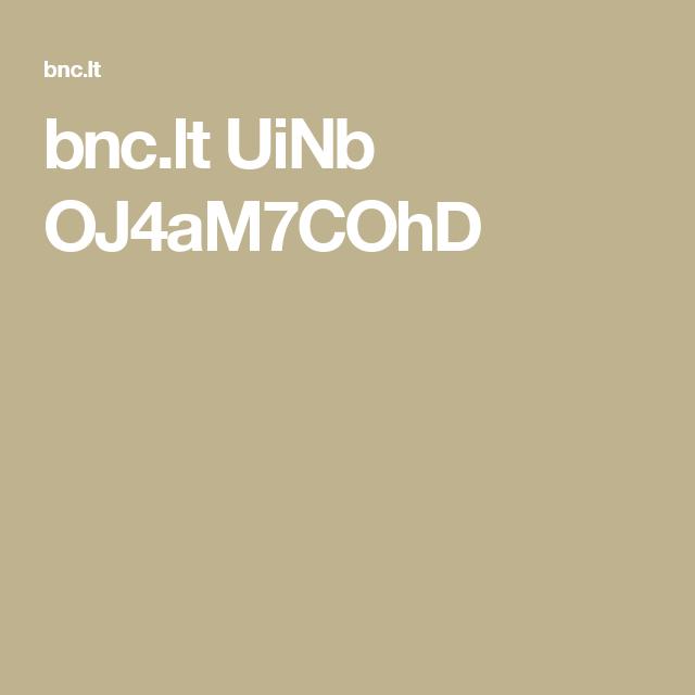 bnc.lt UiNb OJ4aM7COhD