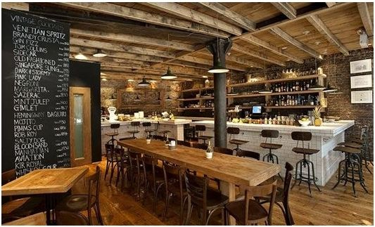 Charming wine bar Aria in NYC's West Village