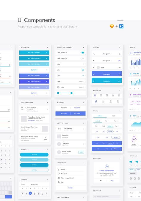 Medical & Healthcare iOS UI Kit M Project contains more than 50