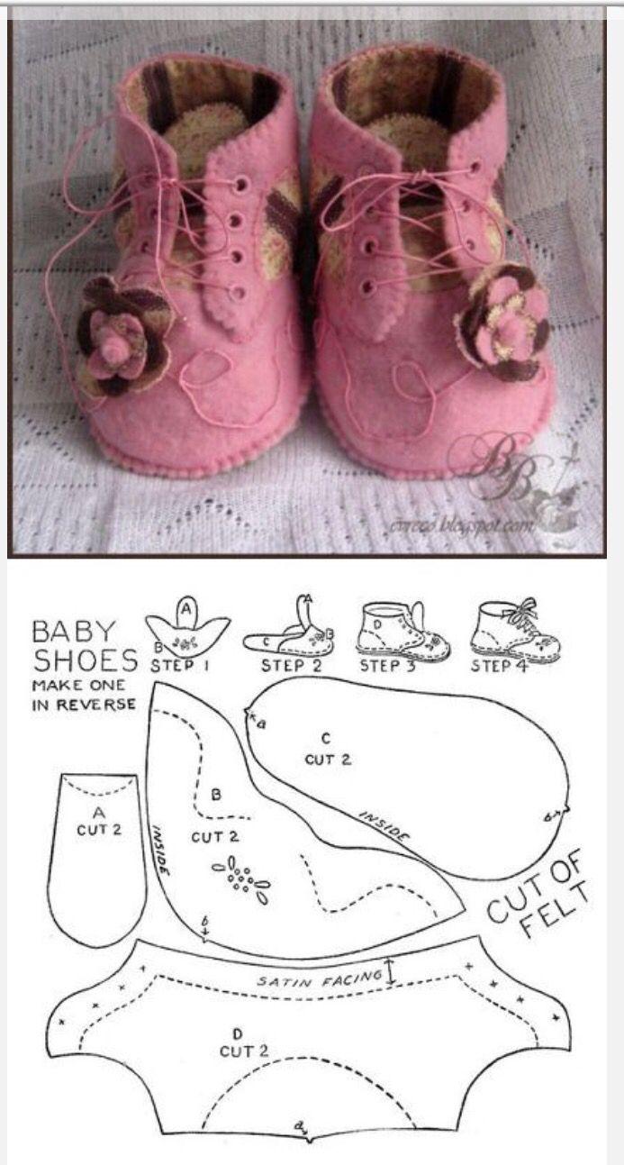 Zapatos | zapatiyos | Pinterest | Zapatos, Muñecas y Bebé