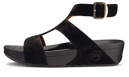 7b0045ef80f824 UK Fitflop Black sandals - Fitflop Arena Luxe Black shoes for women. Online  UK factory outlet for sale only £51.10. Retro-inspired