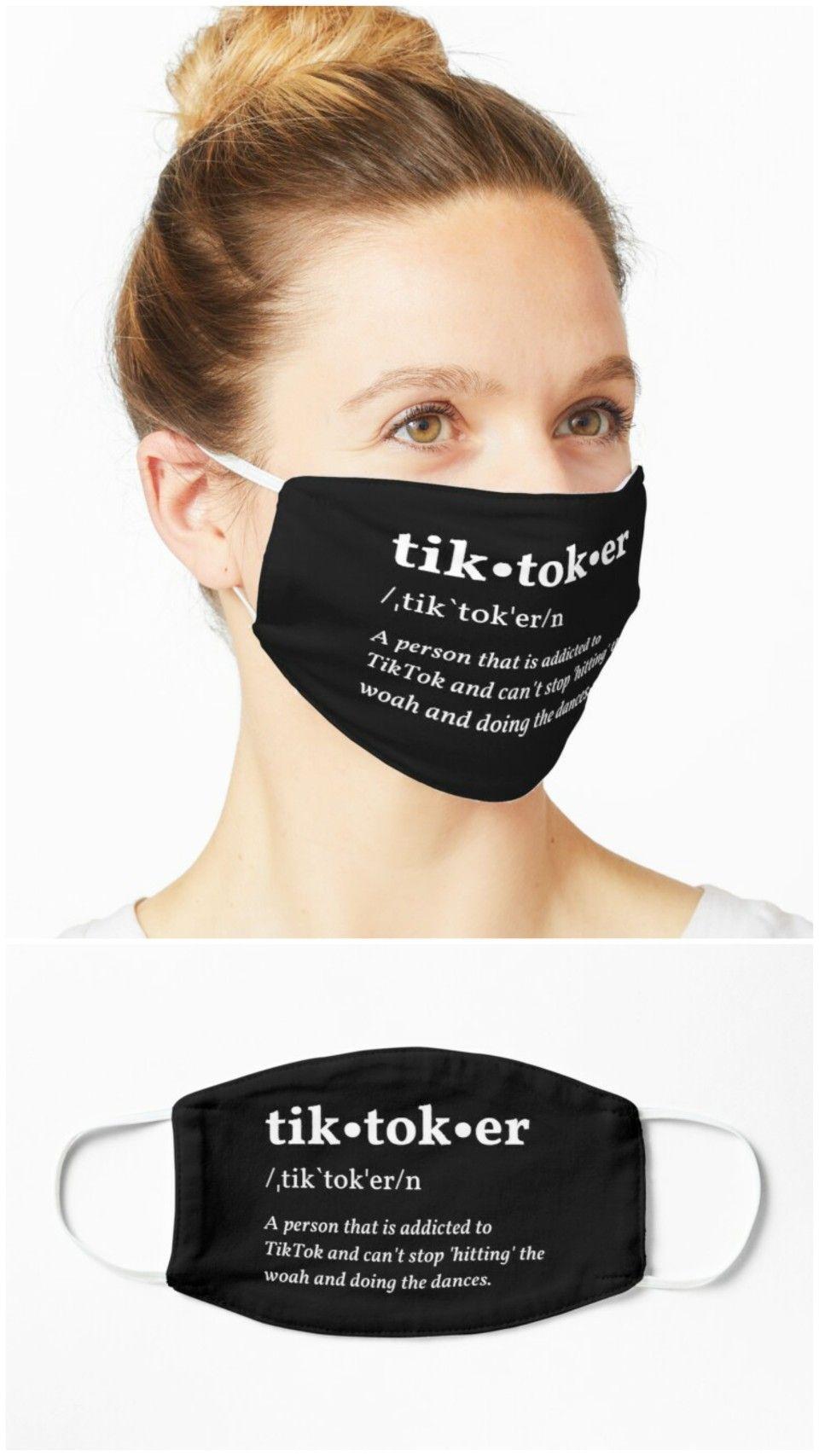 Tiktoker Definition Bring Back Tiktok Face Mask Mask Face Face Mask