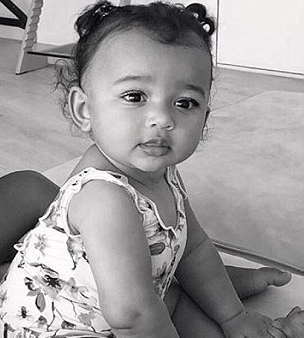 Kim Kardashian Thinks God Made Her Youngest Child Who Was Born Via A Surrogate To Look Just Like Her For A Very Special Reason Kim Kardashian Children Kim Kardashian Kardashian