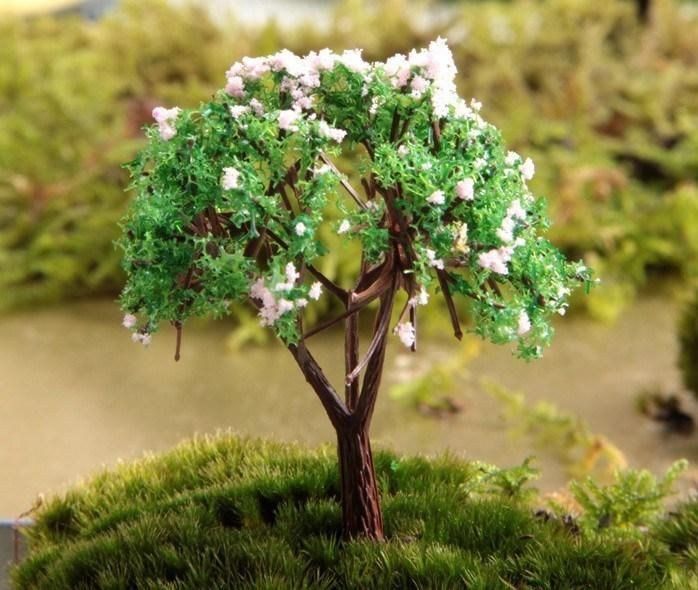 Edible Landscaping And Fairy Gardens: Wholesale / Artificial Tree/miniatures/cute Plants/pink