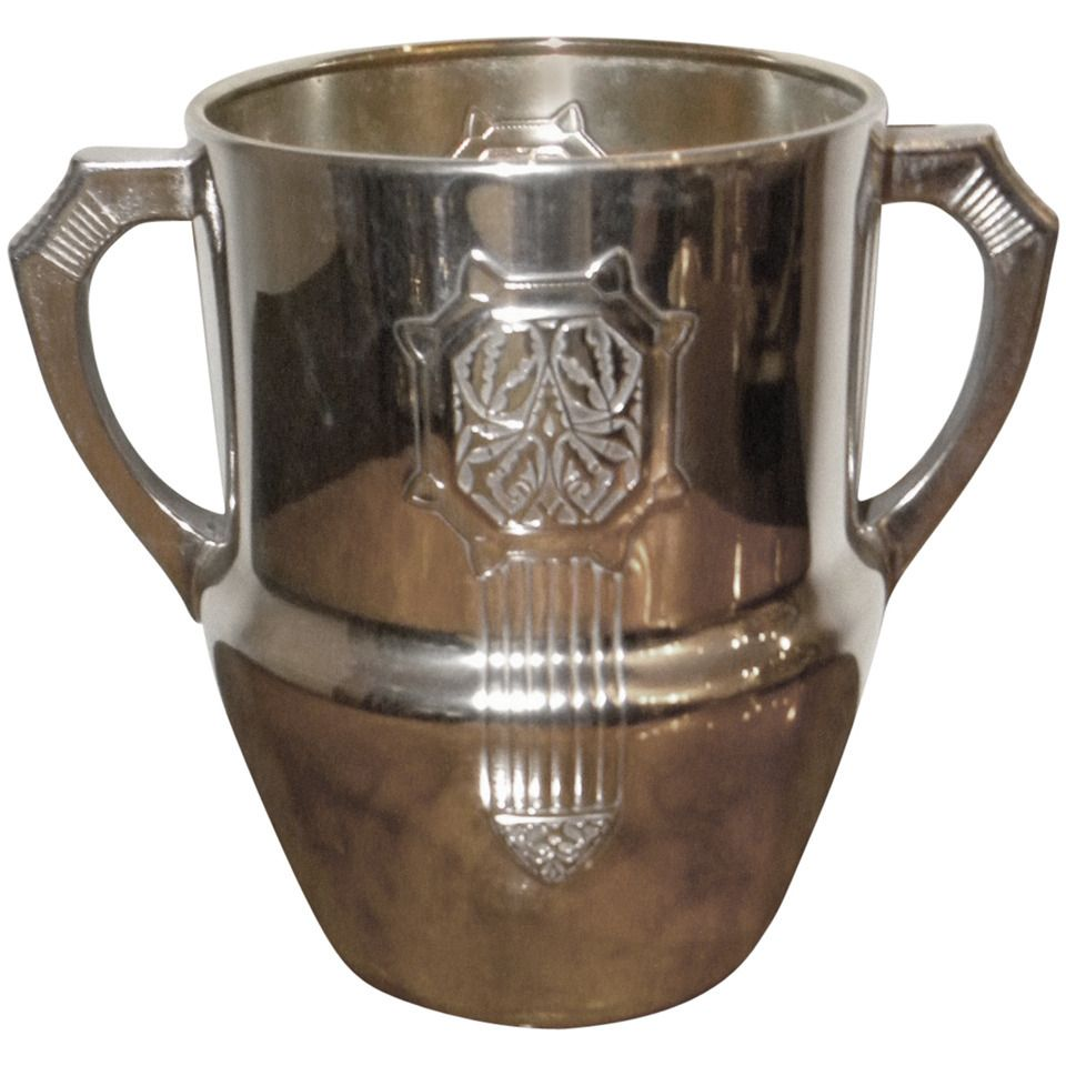 WMF Champagne bucket silver-plate | From a unique collection of antique and modern barware at https://www.artdecocollection.com/cocktail