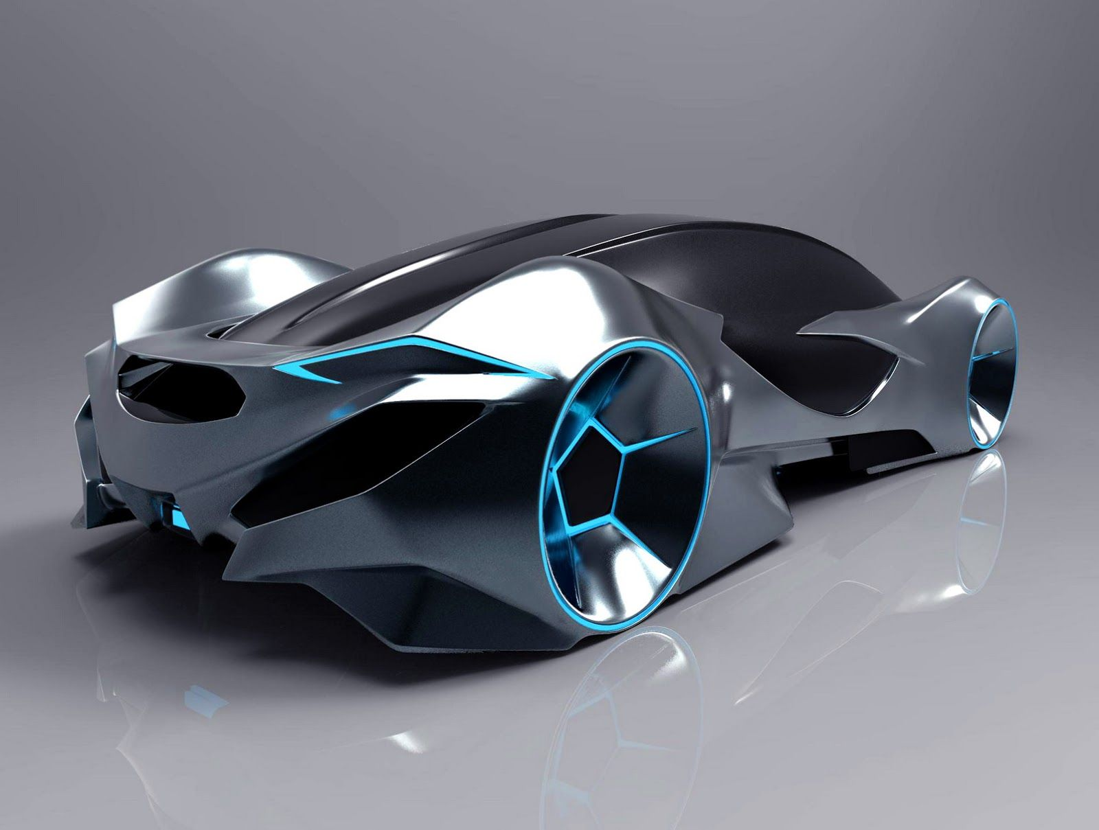 Dino concept is a sporty electric car for future generations.