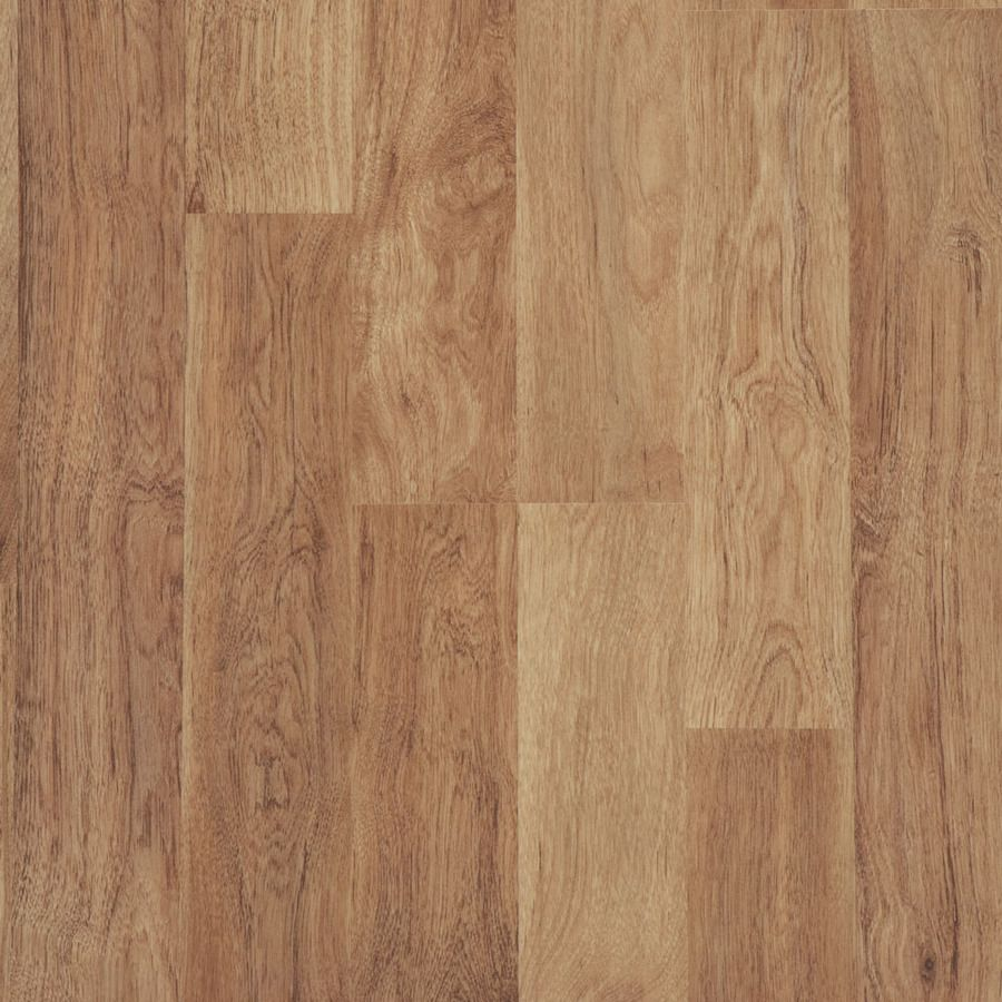 Shop Style Selections 8 05 In W X 3 97 Ft L Ginger Hickory Wood Plank Laminate Flooring At Lowes Com Laminate Flooring Wood Laminate Oak Laminate Flooring