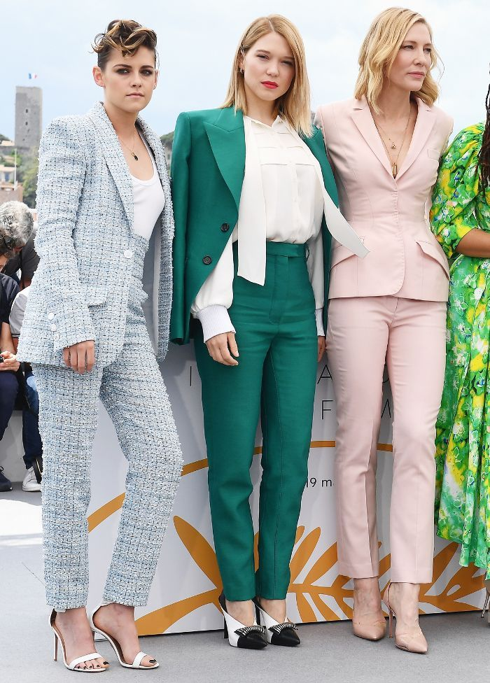 The Pastel Pantsuits at the Cannes Film Festival A