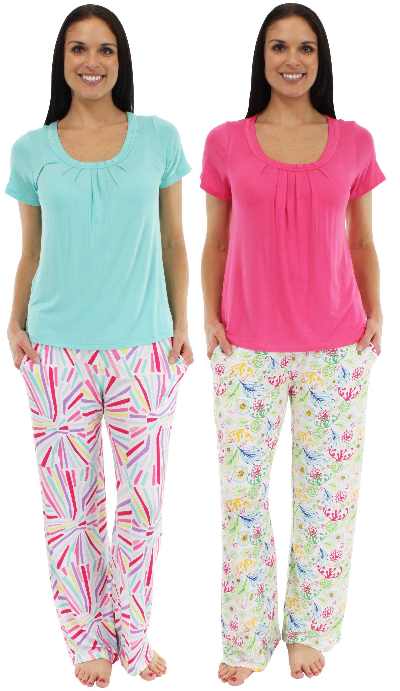Pajama Heaven Shortsleeve Lounger Sleepwear women