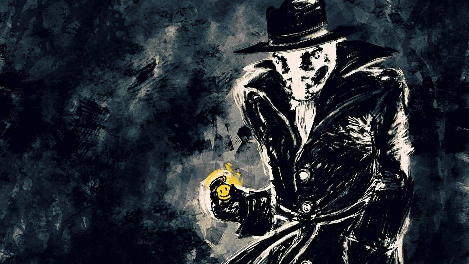 The Watchmen Wallpaper Watchmen Rorschach Hipster Wallpaper Rorschach