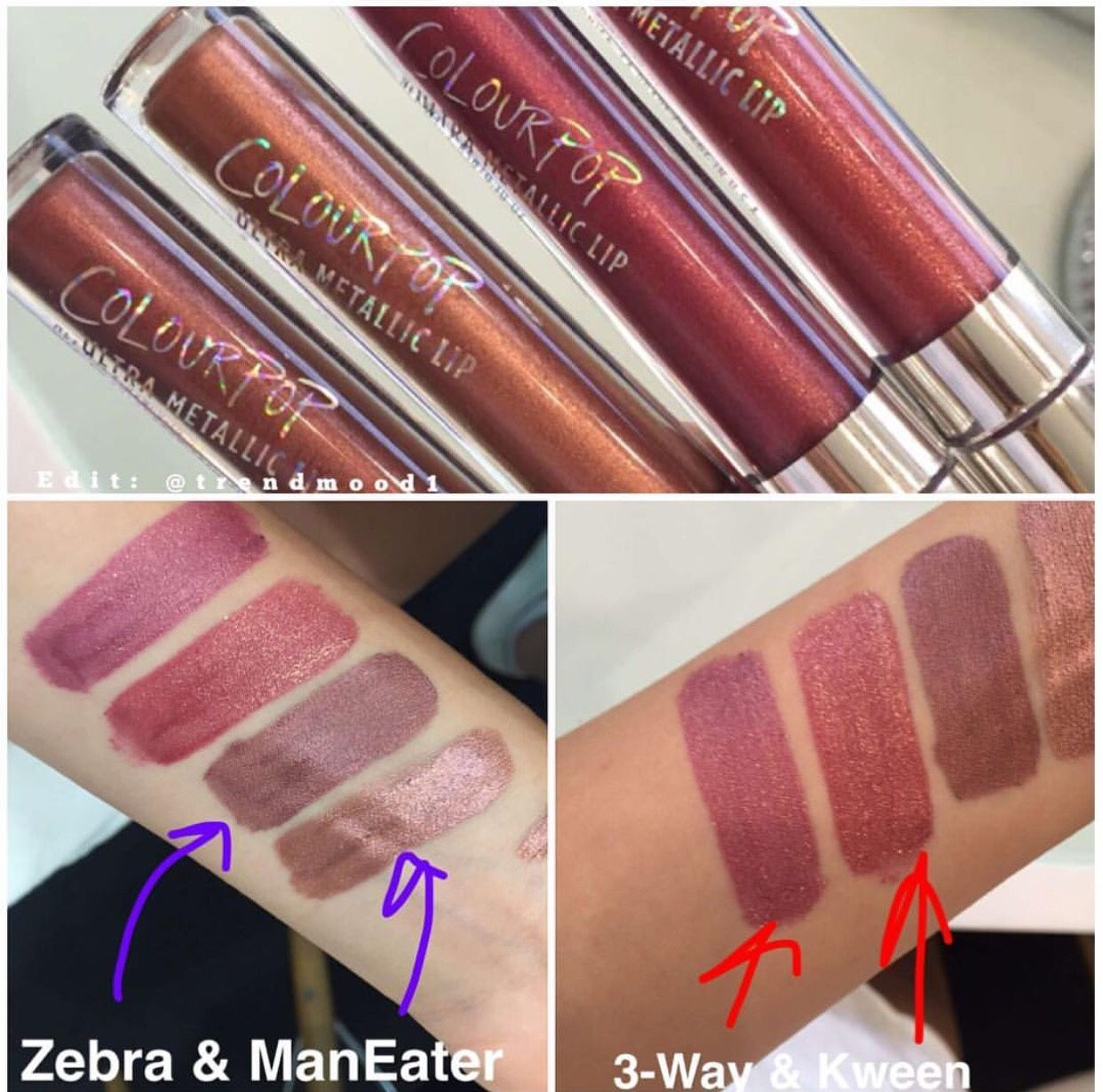 First Swatches Colourpop Cosmetics Is Coming Out With -7862