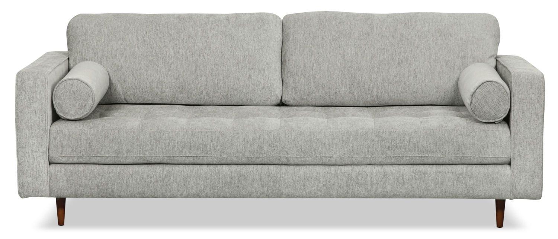 Zuri Chenille Sofa – Slate | Living Room in 2019 | Sofa ...