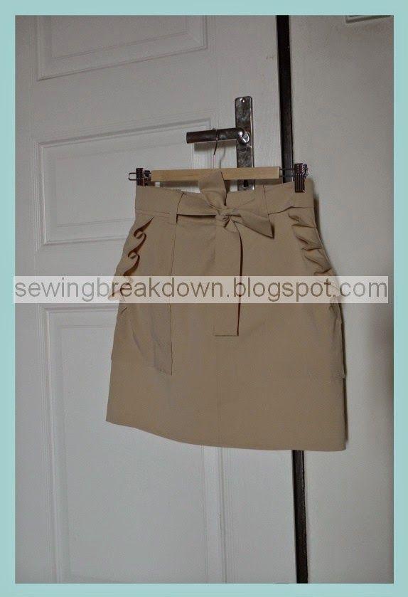 خياطة و تفصيل طريقة خياطة تنورة قصيرة خطوة بخطوة Sewing Mini Skirts Fashion