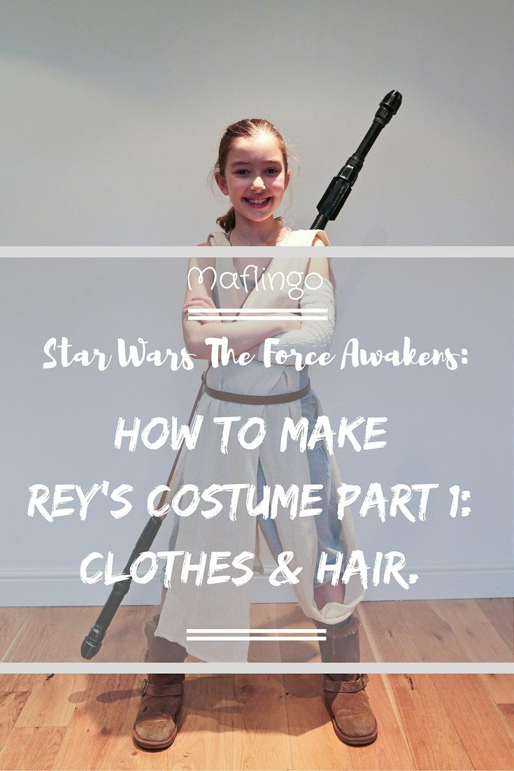 3c2f9f2f8ac How to make an awesome DIY Star Wars Rey costume on a budget ...