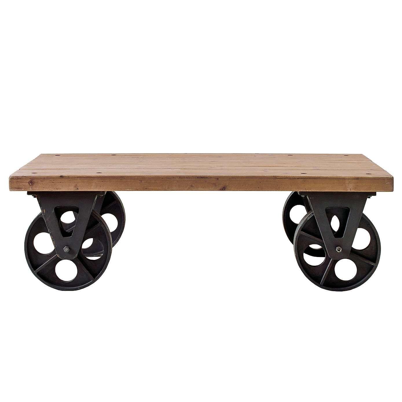 Spitalfields Coffee Table with Wheels Dunelm House