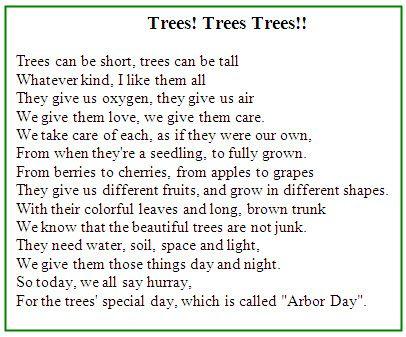 An inspiring tree poem planting trees in Israel | Tree ...