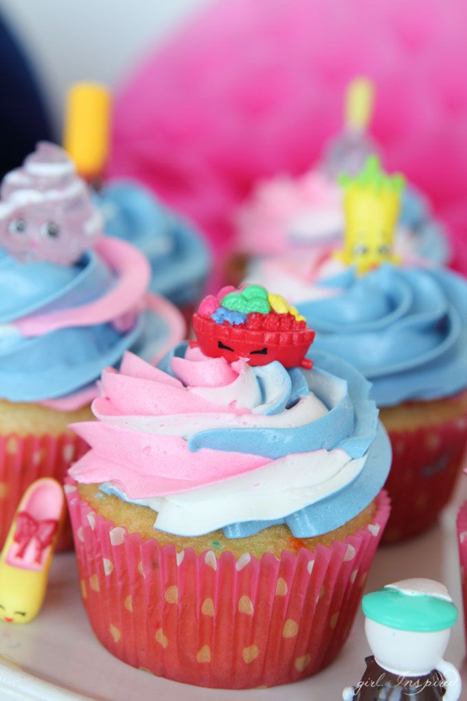 Shopkins Cupcakes | Party guests, Shopkins and Birthdays