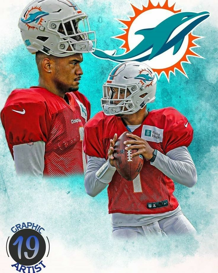 Tua Tagovailoa In 2020 Sports Art Dolphins Football Dolphins