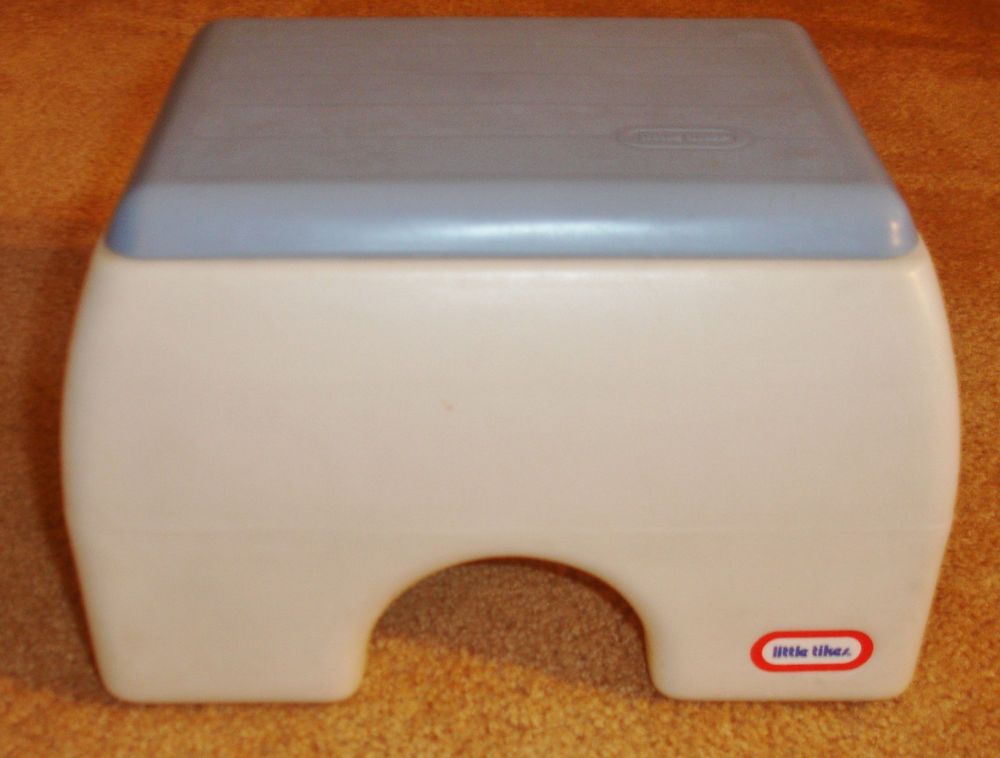 Excellent Vintage Little Tikes Step Stool Blue White Littletikes Gmtry Best Dining Table And Chair Ideas Images Gmtryco