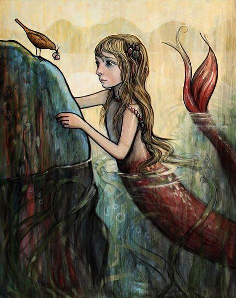 Kelly Vivanco mermaid