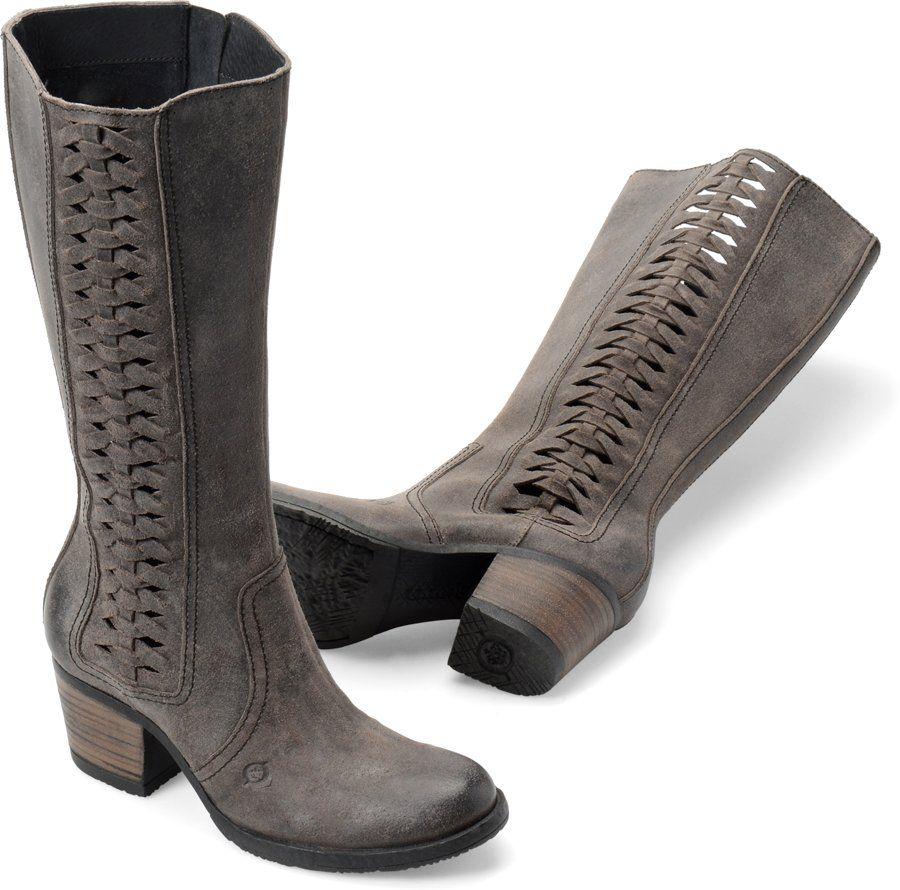 0c641c693 Born Ochoa in Deep Grey - Born Womens Boots on Bornshoes.com ...