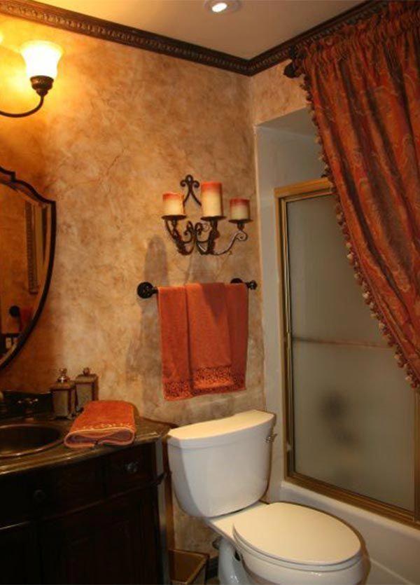 Lovely #Bathroom Tuscan Bathroom Design Ideas #art #best #Ideas#Tuscan #Bathroom # Design #Ideas #Tuscanstyle