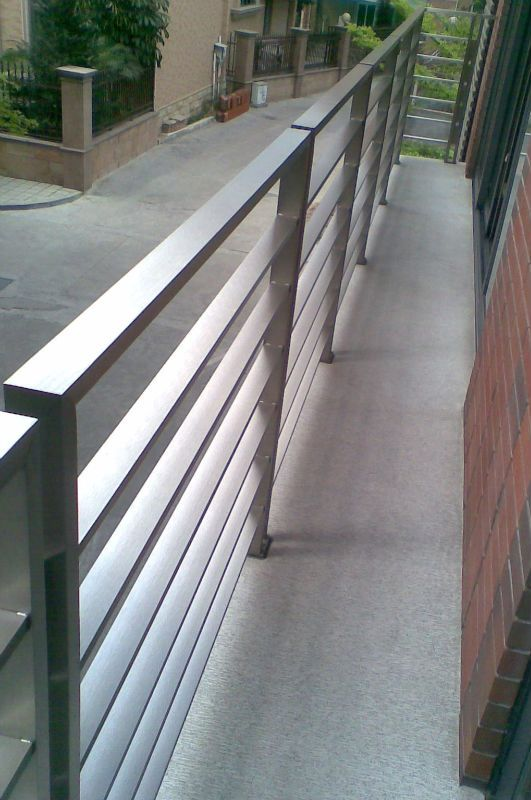 Stainless Steel Outdoor Railing China Mainland Barades Handrails Front Porch Railings