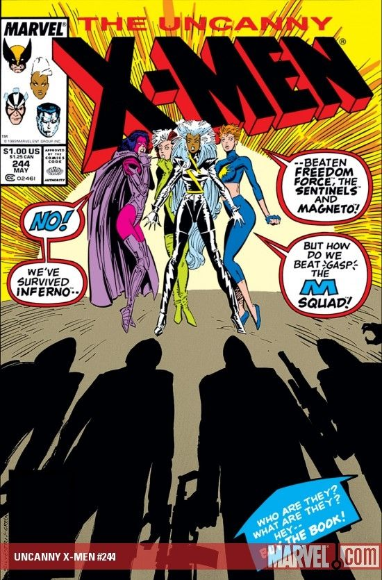 Uncanny X Men 1963 244 Marvel Jubilee X Men Comics