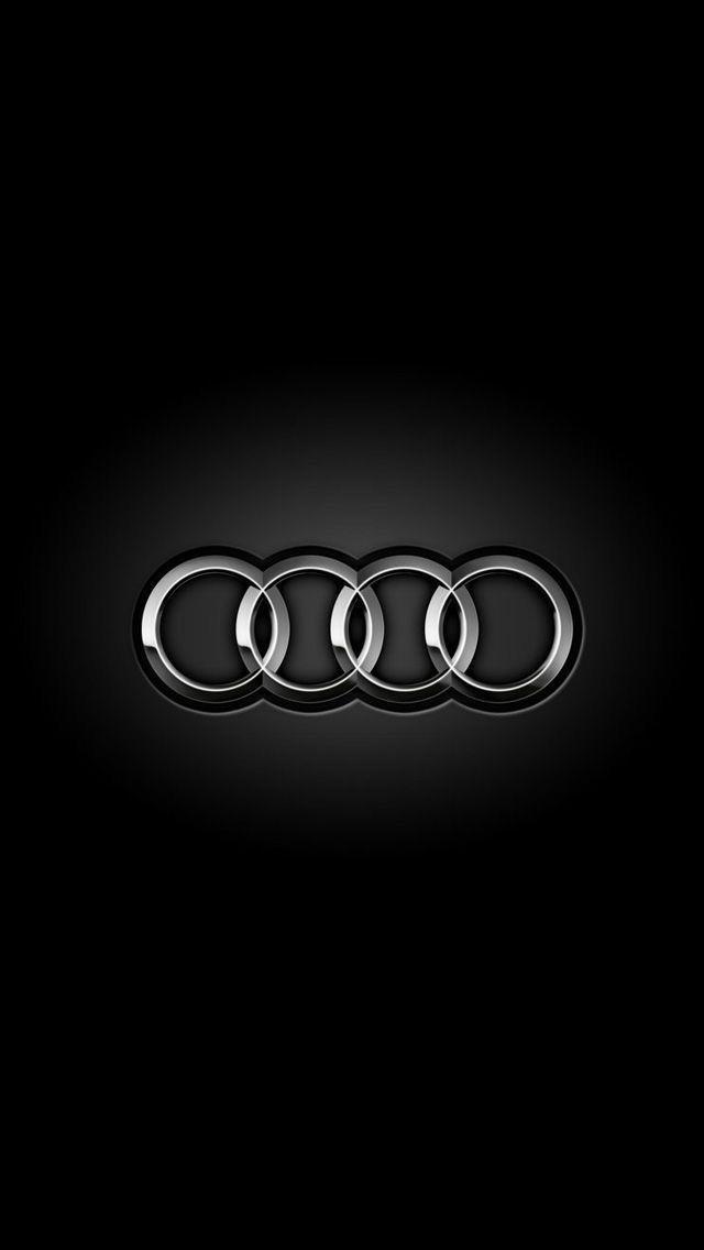 Audi Logo on Black in 2020 | Luxury car logos, Sports car ...