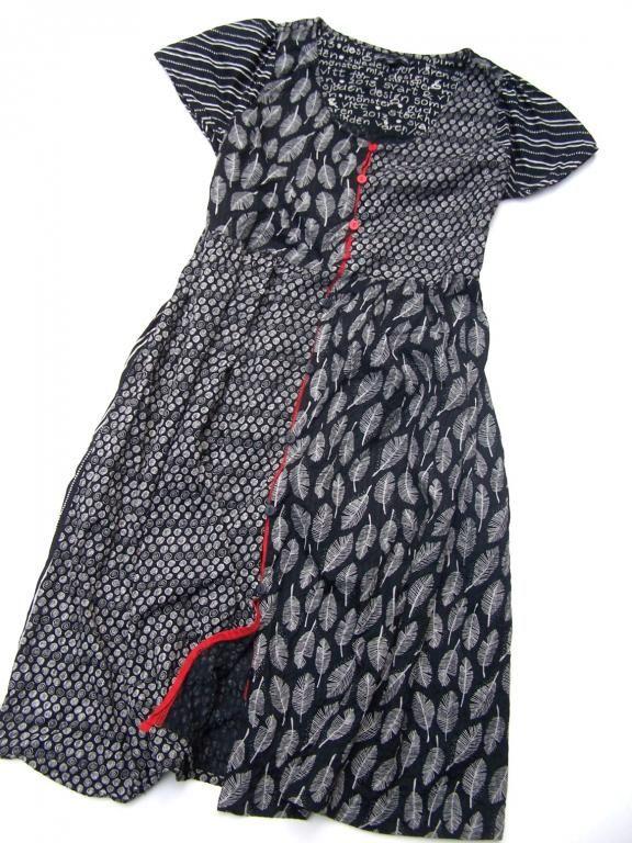 Gudrun Sjoden Piekna Sukienka Laczona Clothes Upcycle Clothes Comfortable Outfits