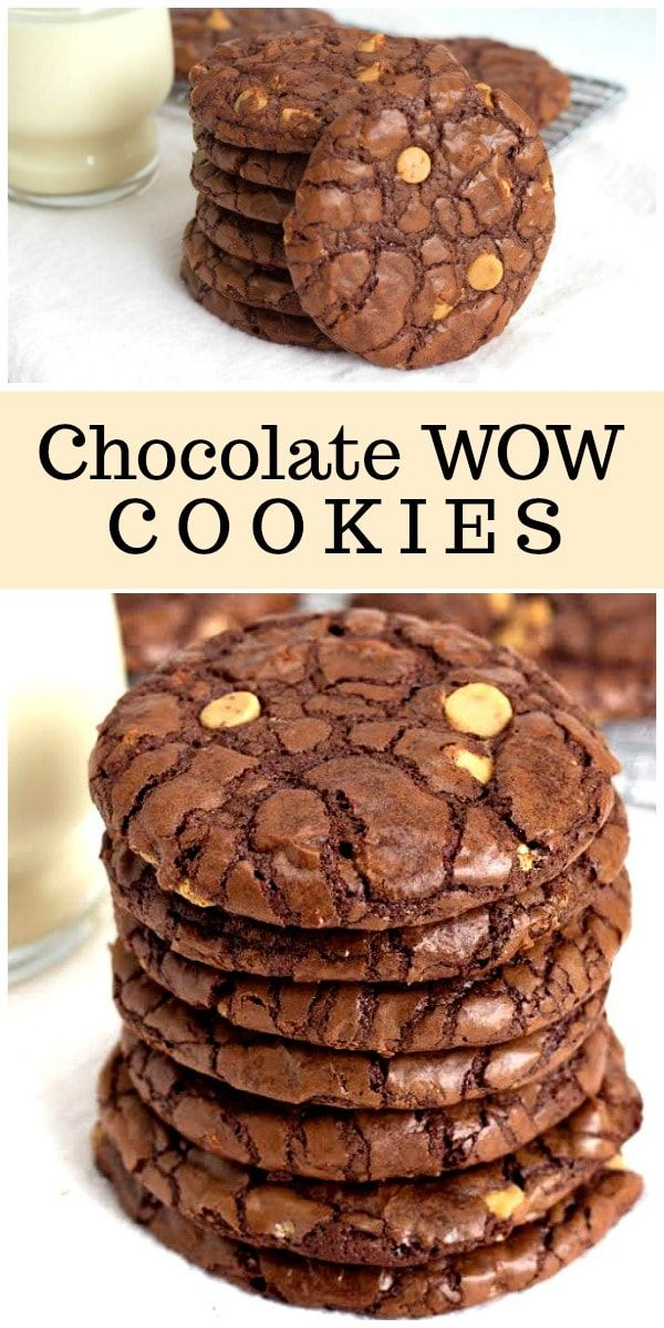 Chocolate Wows Chocolate Wow Cookies recipe from