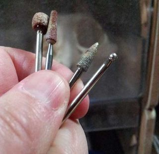 Use Sanders and Diamond Carvers to Remove As Little As Possible