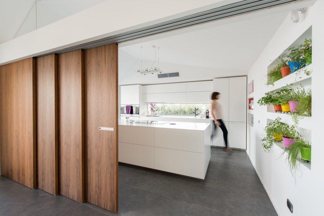 Attic apartment by mobilificio marchese homeadore 1j stair doors windows designs - Mobilificio marchese ...