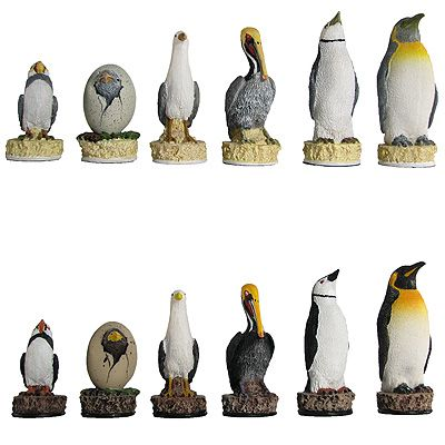 Animal Theme Chess Sets | Your Move Chess & Games #Chess_Set #Chess_Pieces #Chess