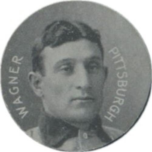 1909-11 Colgan's Chips Stars of the Diamond E254 #NNO Honus Wagner Front