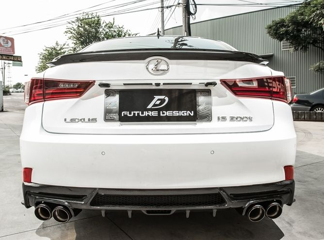 lexus is350 diffuser 2012