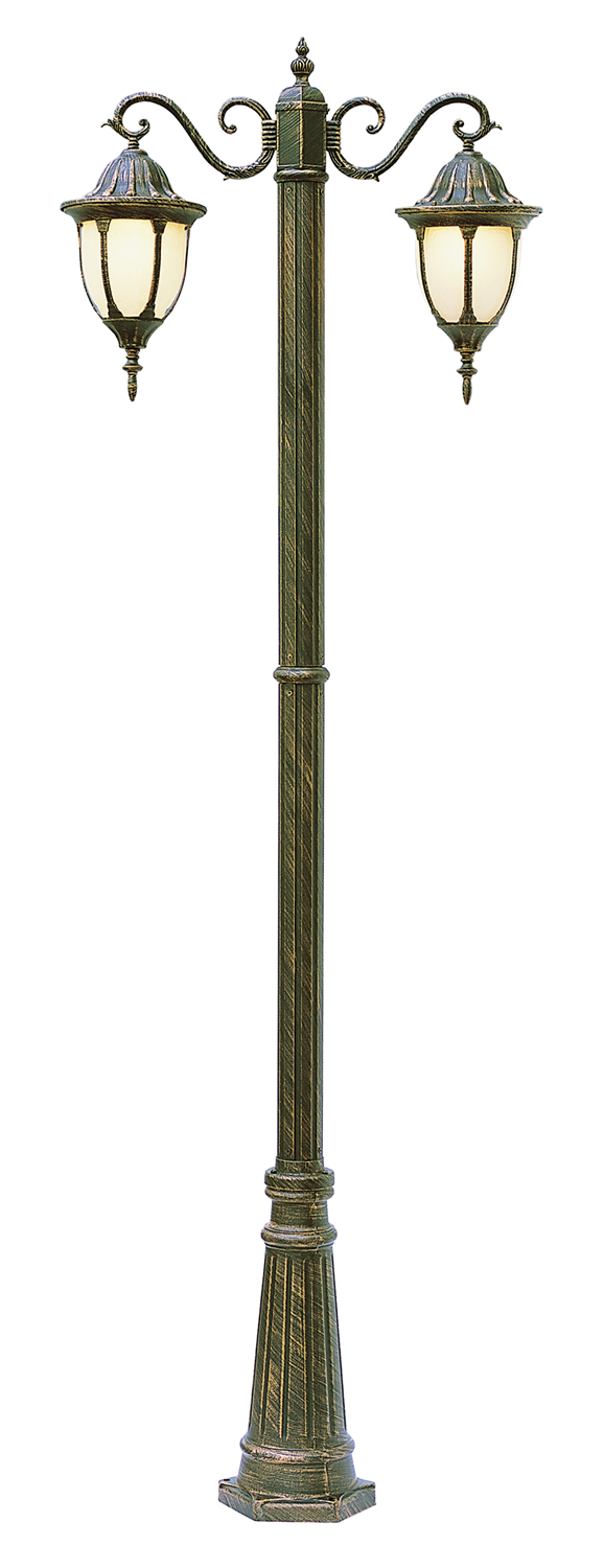 """Dimensions: Width 32"""" - Height 0"""" to 93"""" - Depth 0"""" Bulb Type ... for Street Lamp Post Height  113cpg"""