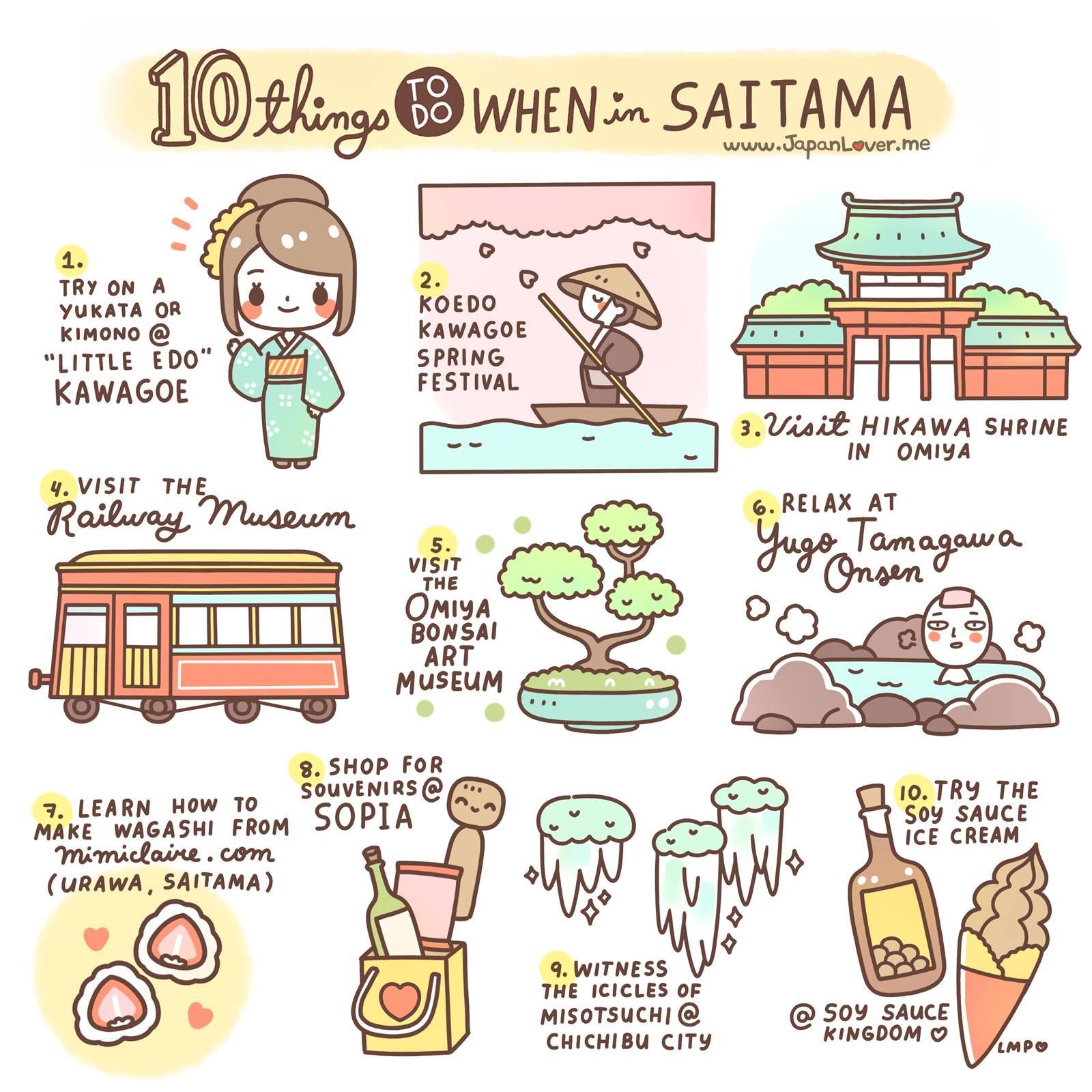 10 Things To Do When In Saitama Japan Travel Saitama Japan Saitama