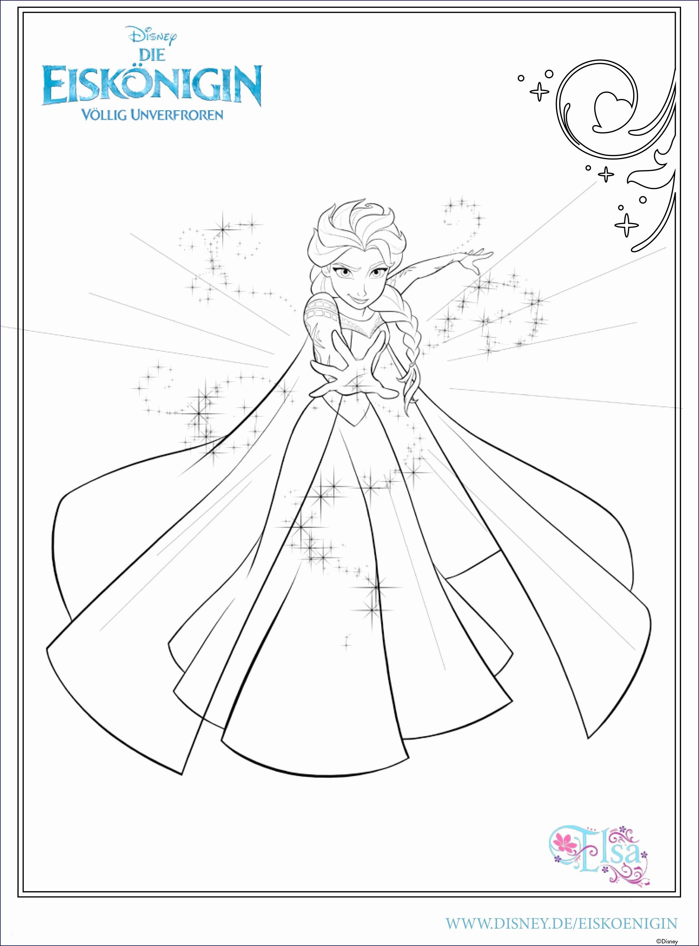 Frisch Malvorlagen Elsa Und Anna Kostenlos  Elsa coloring pages