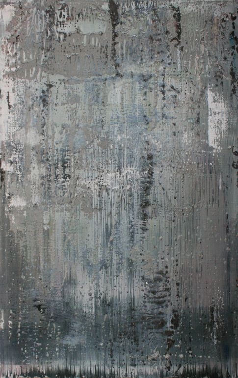 Koen Lybaert; Oil, 2012, Painting abstract N° 443 Art