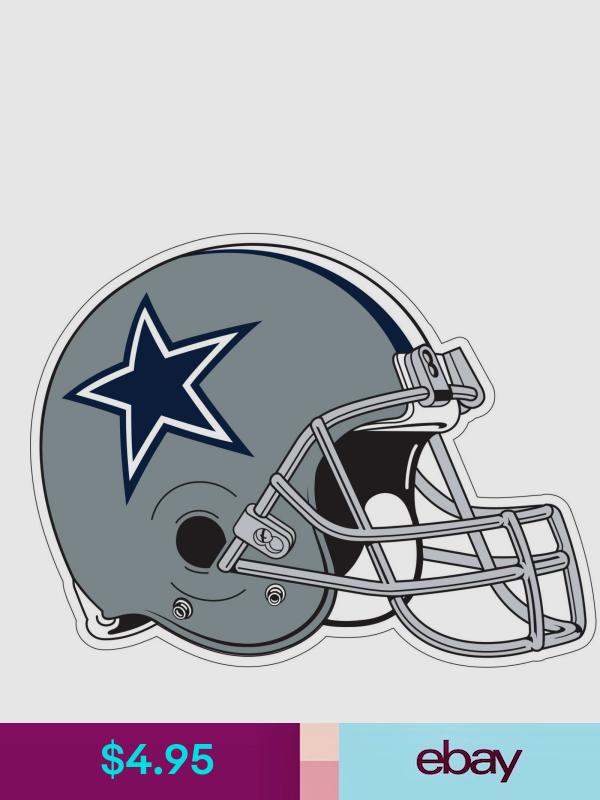 Football Nfl Sports Mem Cards Fan Shop Cowboys Helmet Helmet Nfl Logo