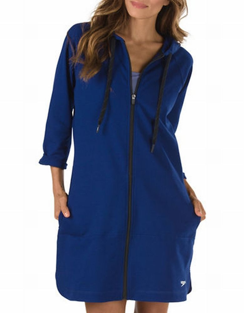 7237139 Aquatic Fitness Robe with Hood Aquatic 813b33584