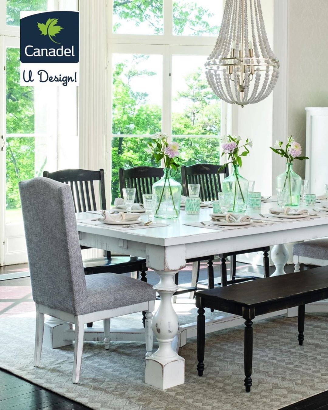 Design Your Own Dining Room With Udesign From Canadel Pick Your