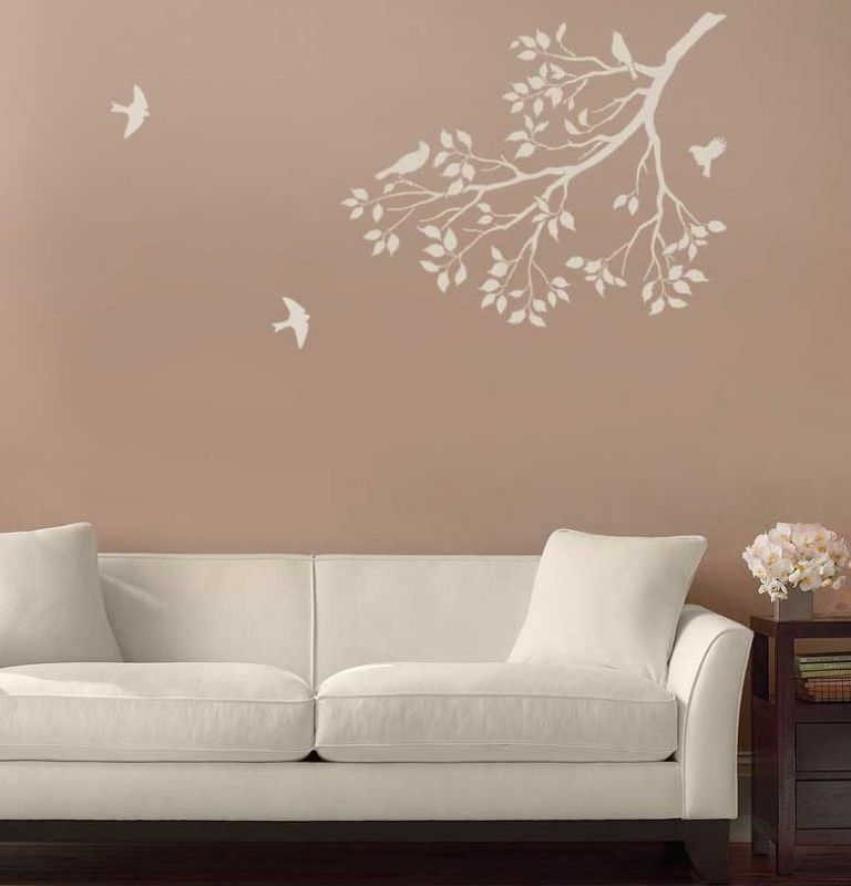 Spring Songbirds In Situ Just Plain Cool Pinterest Stenciling