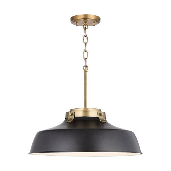 You Ll Love The Oma 1 Light Dome Pendant At Allmodern With Great Deals On Modern Lighting Products And Free Sh Pendant Lighting Single Pendant Lighting Light