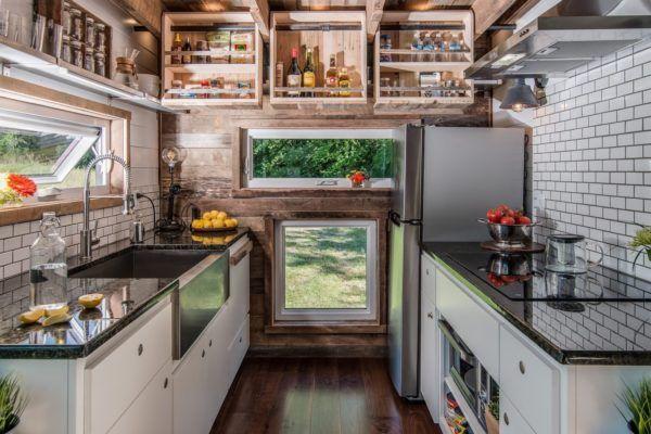 Alpha Tiny House 0017 New House - Kitchen Pinterest Tiny