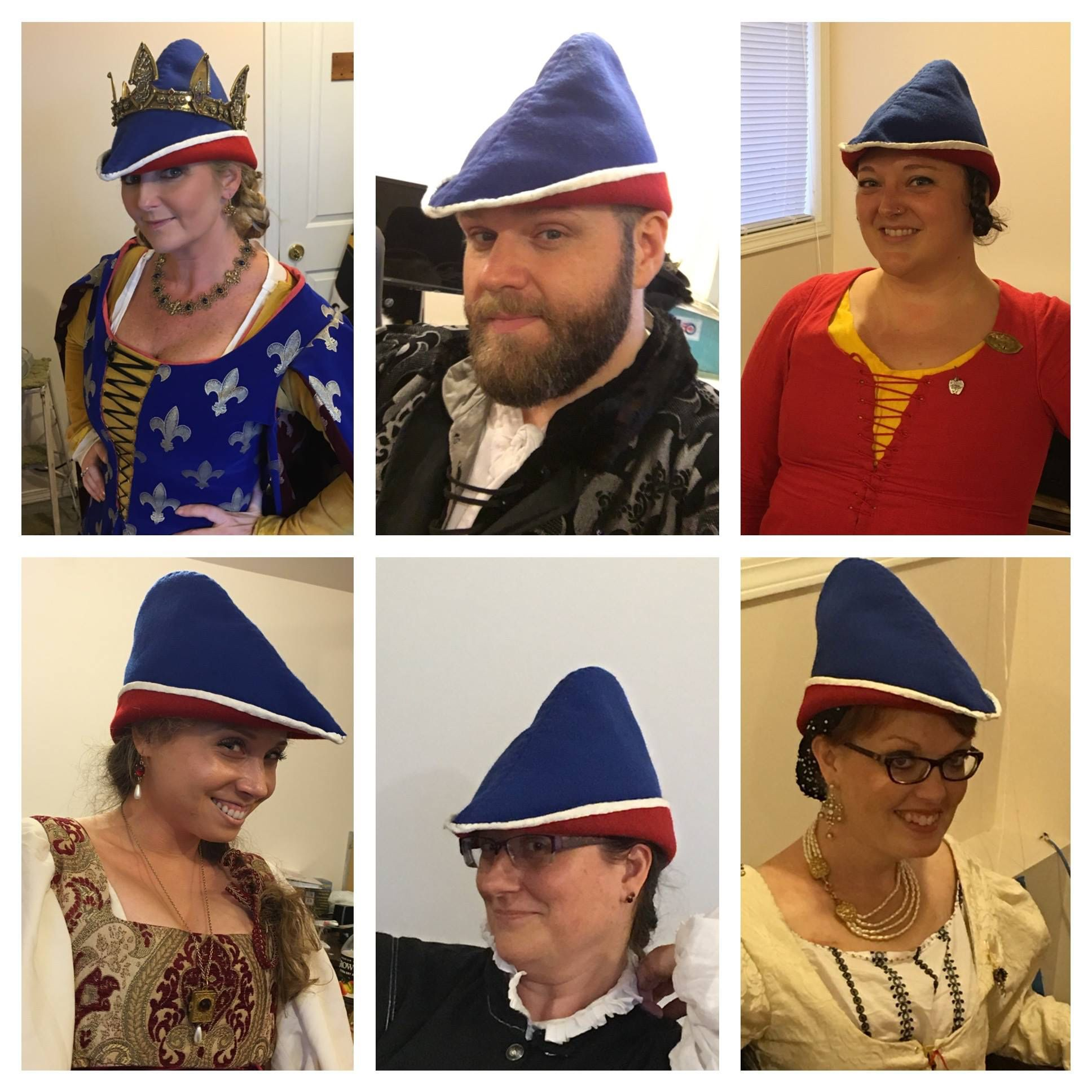 040e2e5e78ecd Bycocket - 14th and 15th century hat that looks good on everyone form crown  to commoner.