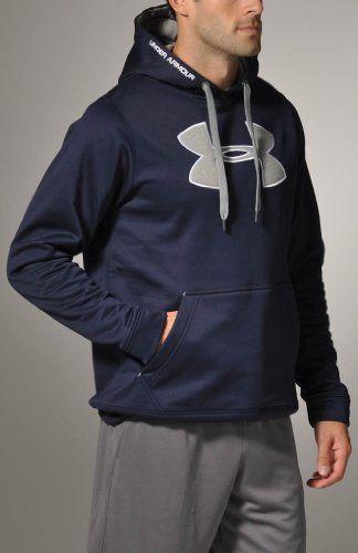 under armour hoodie men navy